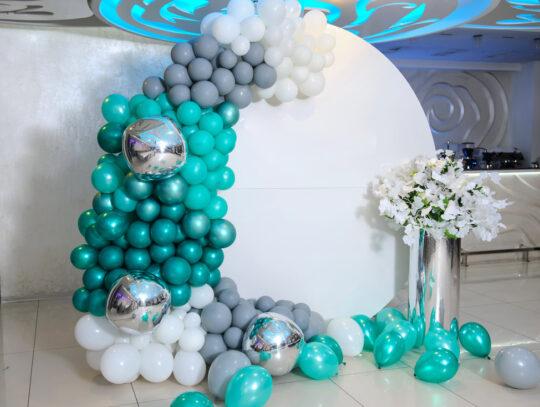 balloon backdrop for events El Paso